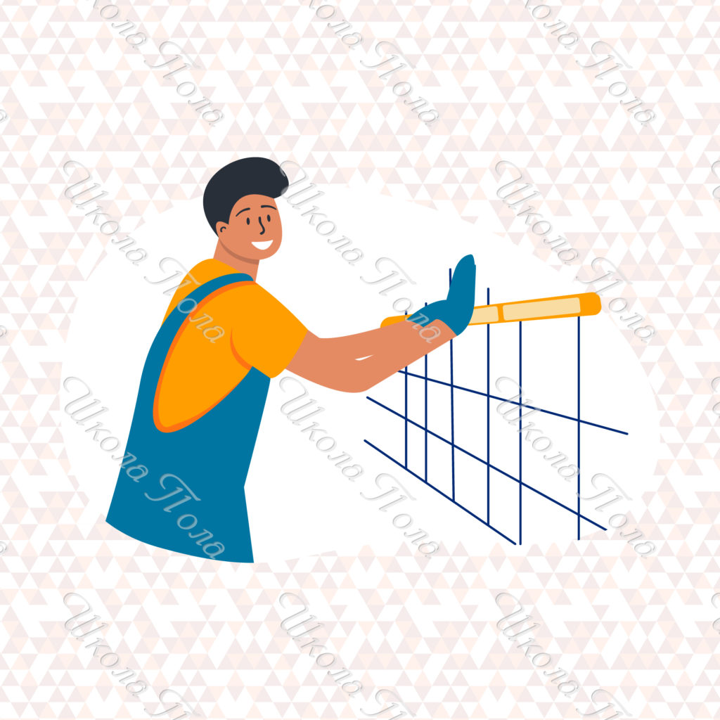Разметка плитки перед укладкой