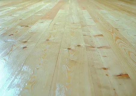 Готовый пол из твердых пород дерева