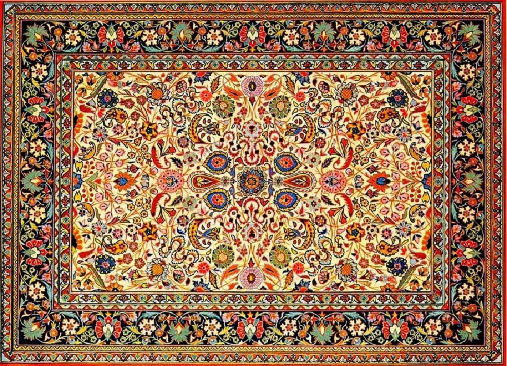 Стильный азербайджанский ковер