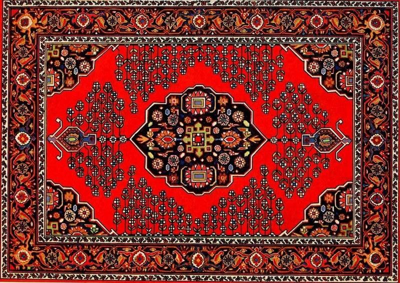 Модный азербайджанский ковер