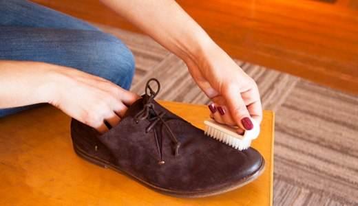 Берегите линолеум от обувного крема.