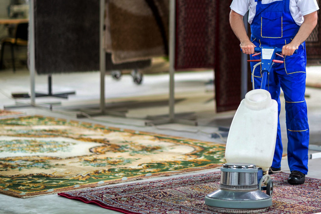 чистка ковров пылесосом