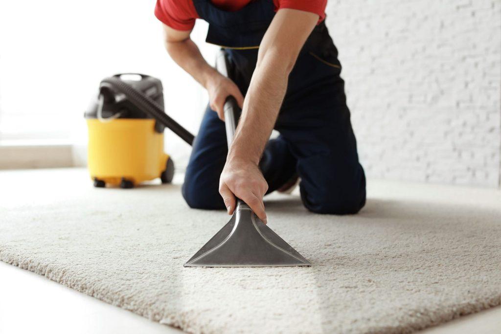 Правильная чистка ковров компанией