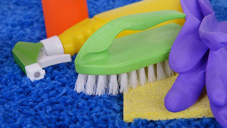 Аккуратная чистка ковров