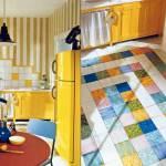 Цветная плитка на пол