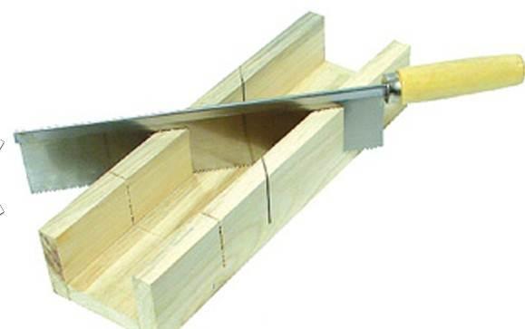 Деревянное стусло, изготовленное самостоятельно