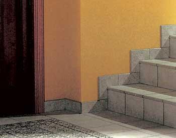 Для лестниц нужны Г-образные плитки.