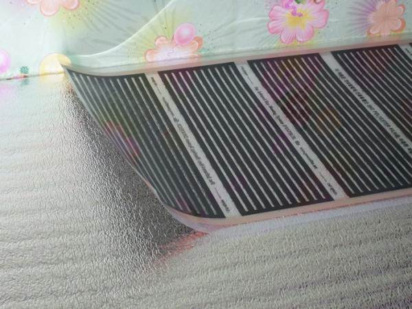 Фольгированная теплоизоляция сокращает энергопотери через нижний узел примыкания