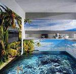 Фото 3d эффекта на кухне.