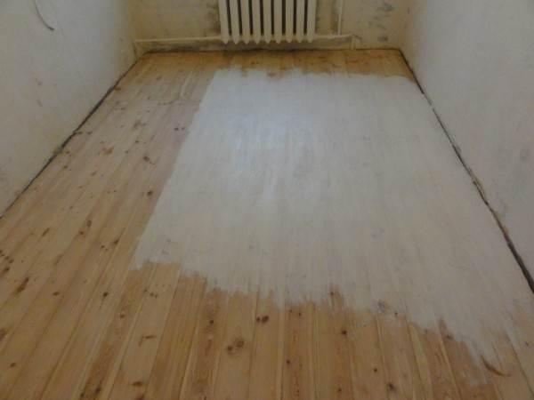Фото белых деревянных полов