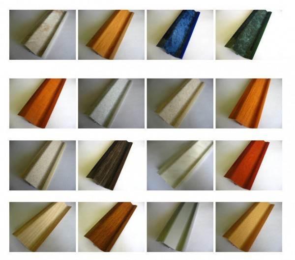 Фото изделий различной цветовой гаммы