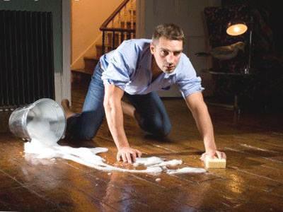 Фото, как мыть линолеум
