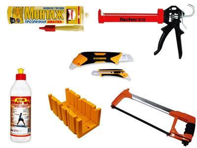 Фото минимального набора инструментов