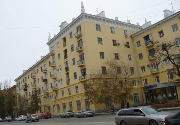 Фото сталинского дома