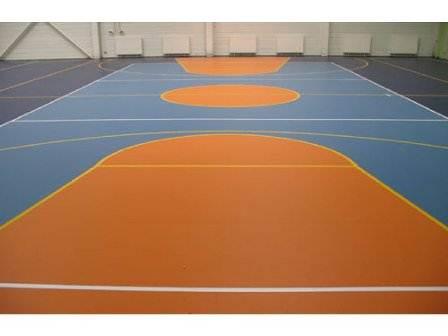 Фотоспортивного зала для игры в баскетбол или волейбол