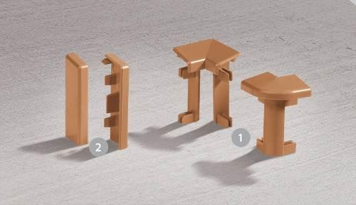 Напольный плинтус из ПВХ – особенности установки