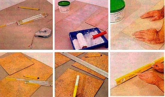 Инструкция укладки на клей