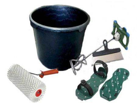 Инструменты для заливки полимерного пола