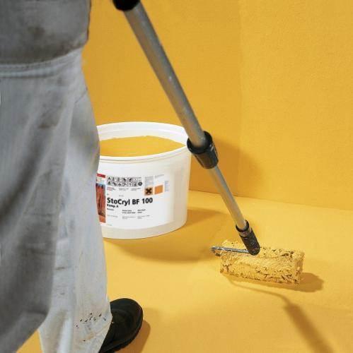 Использование эпоксидной краски