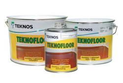 Качественная краска для пола от ТМ «Teknos»