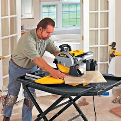 Как резать половую плитку? – Наслаждаясь процессом