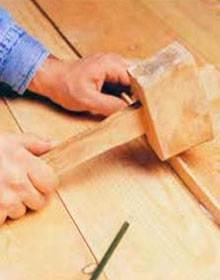 Как убрать щель между досками с использованием реек