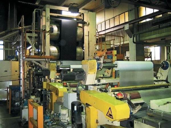 Каландровая машина для производства натурального линолеума