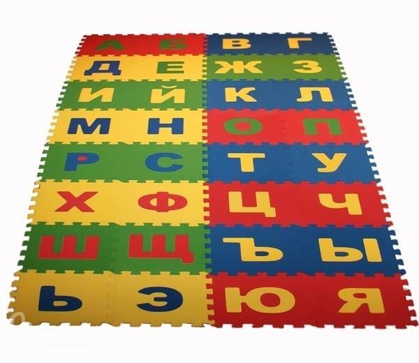 Коврик пазл – отличное решение для детской комнаты