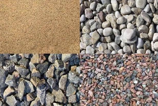Кроме гравия, для обустройства песчано-гравийной подушки может использоваться щебень.