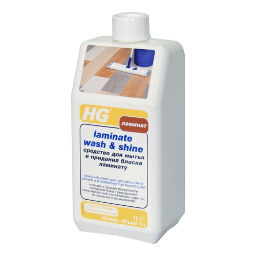 Выбирайте чистящие средства от производителей ламината