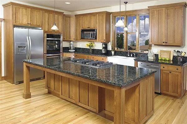 Ламинат на кухне – одно из лучших решений