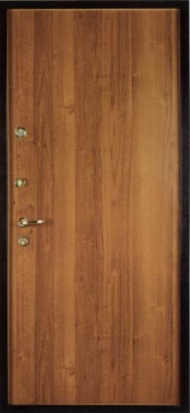 Металлические двери: ламинат в качестве отделки