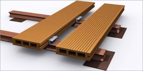 Монтаж древесно-полимерной доски (ДПК) – это своеобразная сборка напольного «лего».