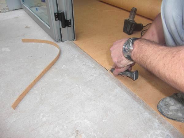 Монтаж на бетонное основание