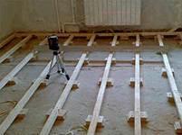 Цементная стяжка пола: состав, свойства, монтаж
