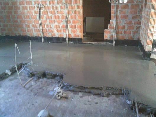 Мощное бетонное основание