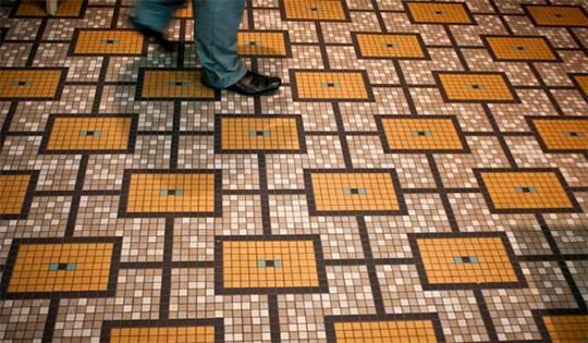 Мозаичное напольное покрытие