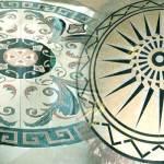 Мозаичные полы из мраморной крошки