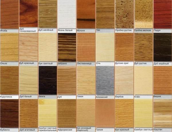 На фото – цветовой ряд современных плинтусов.