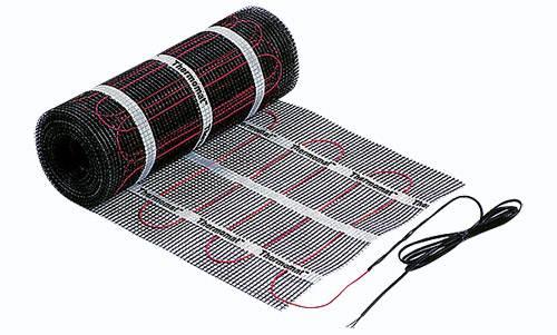На фото лента электрического теплого пола