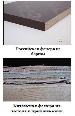 На фото показано сравнение качества продукции отечественного и зарубежного производства.