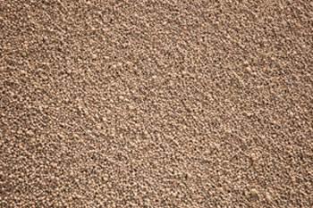 На фото результат переработки керамзита (песок)