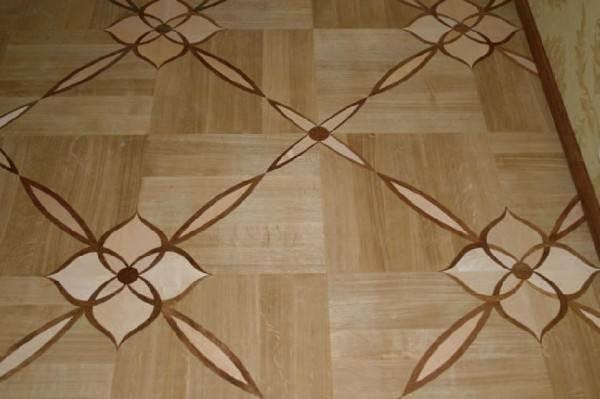 Несмотря на причудливый орнамент, монтаж покрытия предельно прост