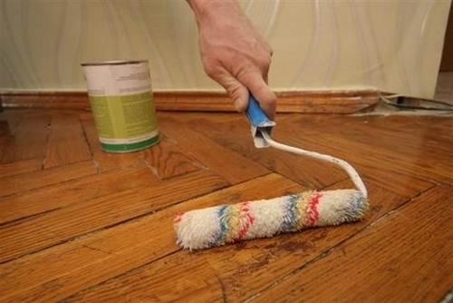 Обновление напольного покрытия – натирание мастикой