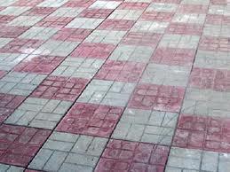Один из вариантов формы тротуарной плитки