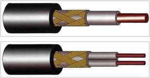 Одно и двухжильный кабель