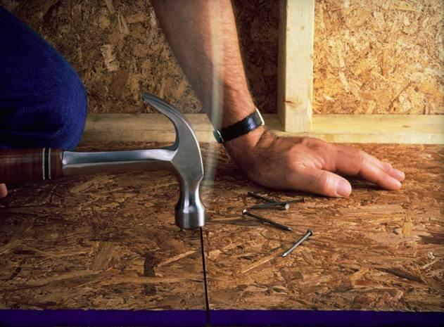 Устанавливаем деревянные лаги для пола в частных и многоквартирных домах