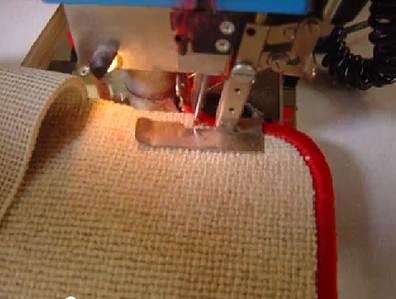 Оверложивание ковролина в домашних условиях