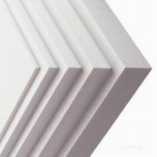 Пенопластовые плиты бывают различной толщины.