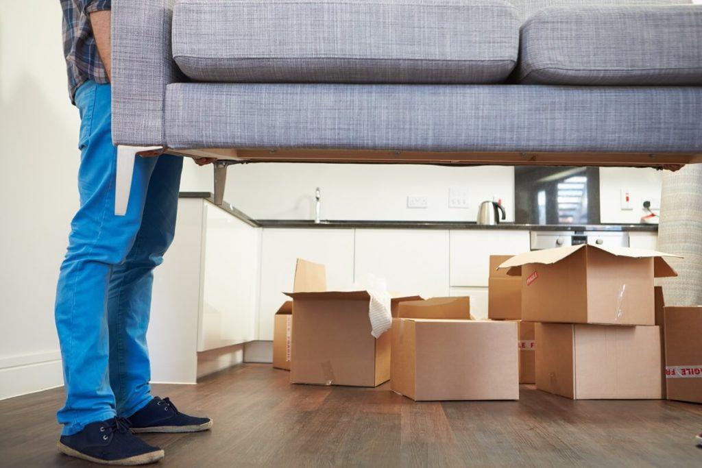 Передвижение мебели по полу